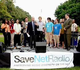 SaveNetRadio in Washington DC