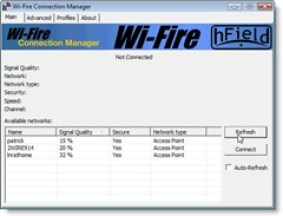 Wi-Fire interface