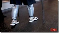 The Bluetooth Cyborg legs