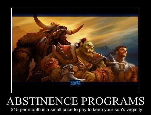 monday morning humor abstinence programs