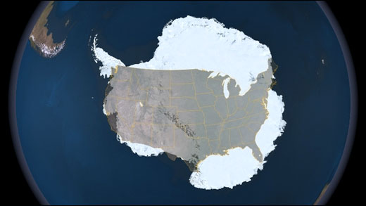 How big is Antartica?
