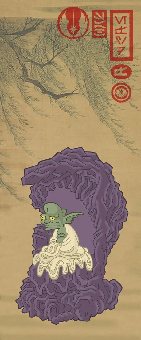 Steve Bialik: Ninja-Star Wars Sensei Yoda
