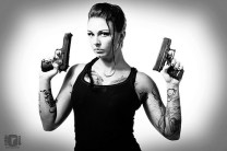 Laura Harrell as Lara Croft 04