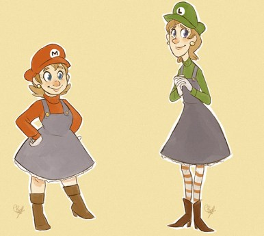 super-mario-sisters-by-beth-t-aka-bluewolf487