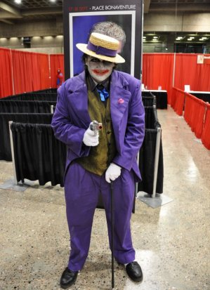 The Joker - Very nice fellow.