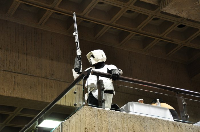 Scout Trooper on Balcony - 501st Quebec