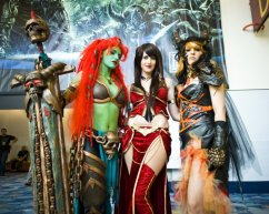 Blizzard Ladies - Blizzcon 2011