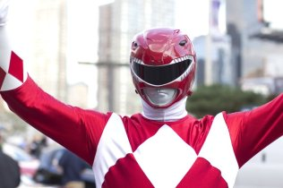 Red Power Ranger (New York Comic Con 2011)