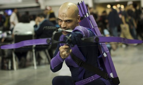 Dark Avengers Hawkeye (New York Comic Con 2011)