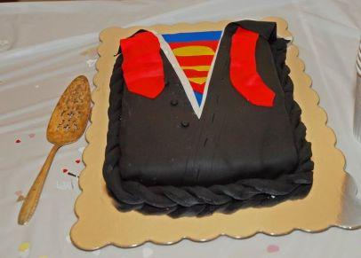Super Grooms Cake