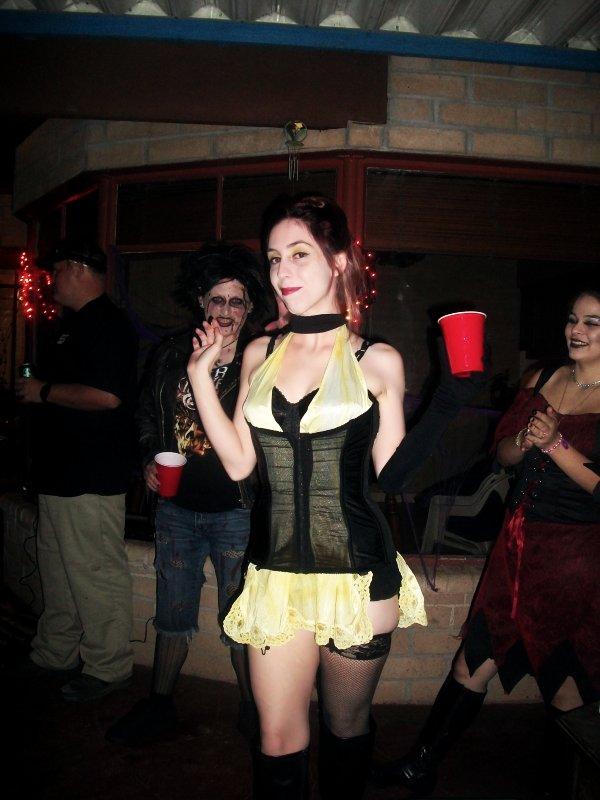 Amanda as Sally Jupiter (Watchmen)