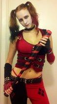 Amy as Harley Quinn
