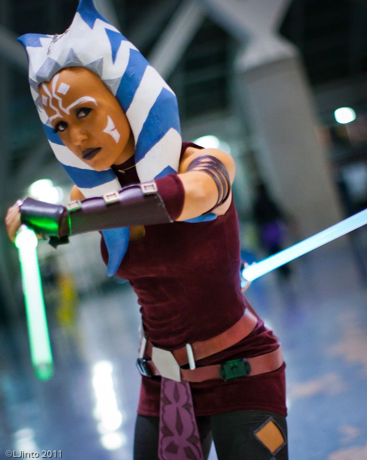 Asohka from Star Wars: Clone Wars