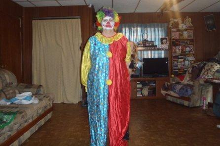 A Scary Clown.