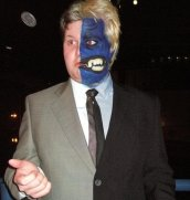 Michael as Two-Face