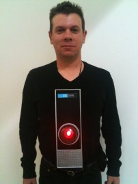 Peter as HAL-9000