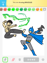 Drawsome Batman-BruceLee