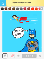 Drawsome Batman-Superman