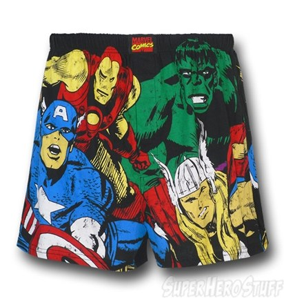 New Superhero Boxers - Avengers