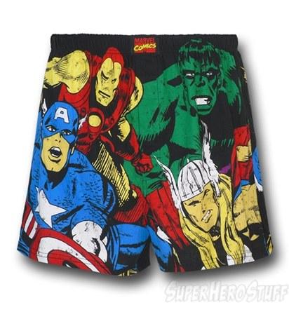 New Superhero Boxers - Avengers
