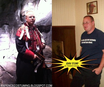 John as Inquisitor Thadeus Kolos from Warhammer 40K