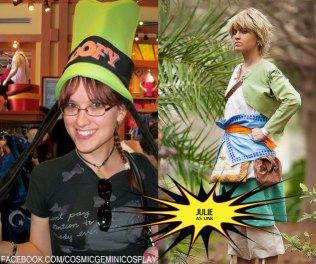 Julie as Link from Legend of Zelda: Twilight Princess