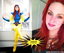 Kearstin as Jean Grey