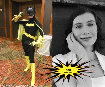 Saki as Batgirl