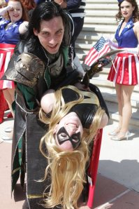Miss Marvel and Loki - Bill Watters - SDCC 2012