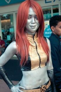 Mercury (X-Men) - Hayley Sargent - SDCC 2012