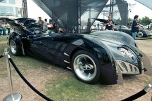 Batmobile (Batman and Robin) - Hayley Sargent - SDCC 2012