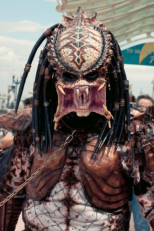 Predator - Hayley Sargent - San Diego Comic-Con 2012
