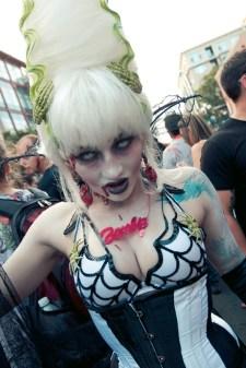 Zombie Walk - Hayley Sargent - SDCC 2012