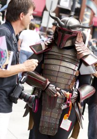 Samurai Boba Fett - SDCC 2012 - San Diego Shooter