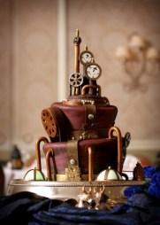 steampunk cake 1