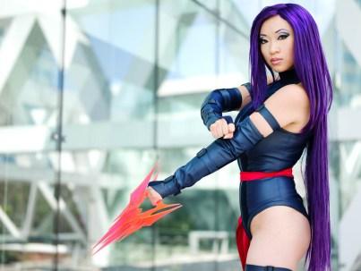 Yaya Han as Psylocke - Picture by Anna Fischer