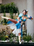 Yaya Han as Chun-Li - Picture by Anna Fischer