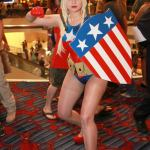 Lady Captain Camerica @ Dragon Con 2012