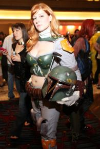 Lady Boba Fett @ Dragon Con 2012