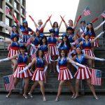 Captain America Ladies @ Dragon Con 2012