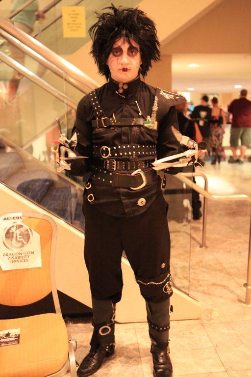 Edward Scissorhands @ Dragon Con 2012 - Picture by Bill Watters