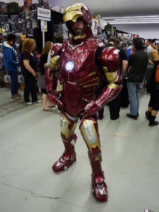 Iron Man at Montreal Comic Con 2012