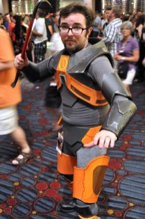 Gordon Freeman @ Dragon Con 2012 - Picture by Mhaithaca