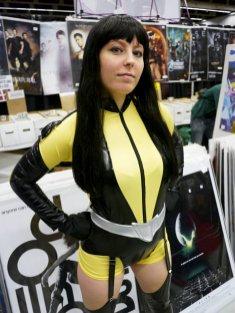 Silk Specter at Montreal Comic Con 2012