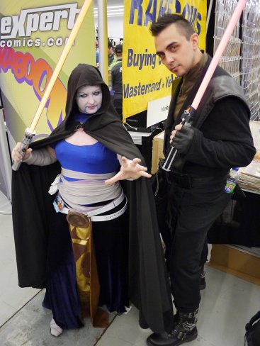 Sith Lords at Montreal Comic Con 2012