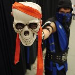 Sub Zero (Mortal Kombat) at Montreal Comic Con 2012