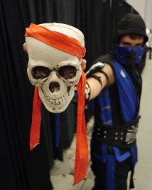 Sub Zero (Mortal Kombat) at Montreal Comic Con 2012