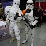 Stormtrooper and Snowtrooper at Montreal Comic Con 2012