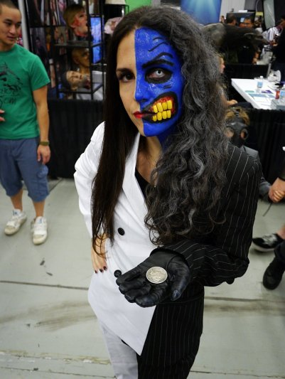 Lady Two-Face at Montreal Comic Con 2012