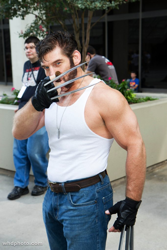 Wolverine @ Dragon Con 2012 - Picture by Leepus